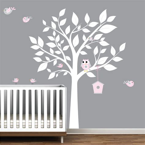 Tree Decals For Walls Nursery Wall Decals For Nursery Tree Home Ideas
