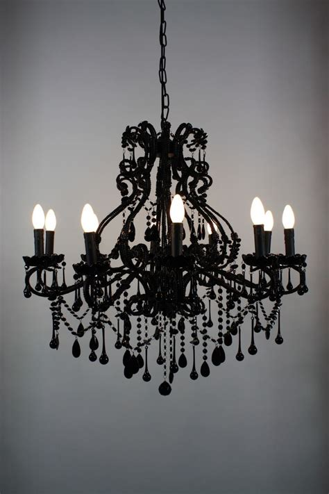 Black Chandelier Lighting by Best 25 Black Chandelier Ideas On