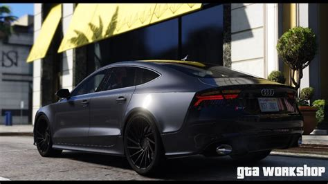 gta  mod audi rs  fast drive pc  fps youtube
