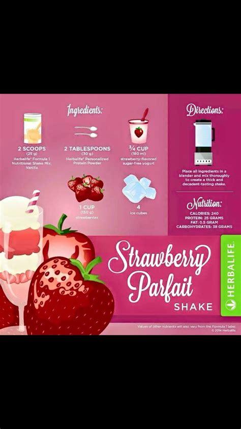 Herbalife Shake Strawberry 25 melhores ideias de receitas shake herbalife no