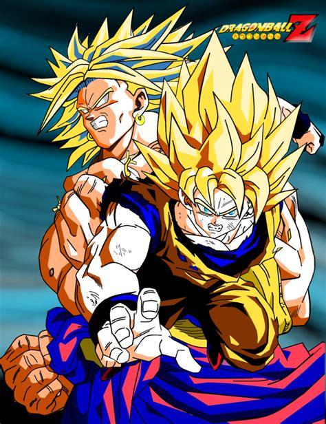 Imagenes De Goku Y Broly | im 225 genes y fotos de goku vs broly