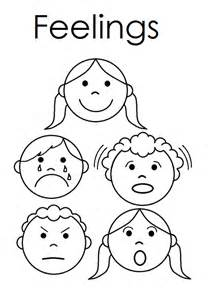feelings coloring pages for preschoolers coloring pagesfeeling printable emotions worksheet sketch template - Feelings Coloring Pages Printable