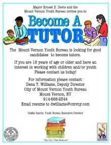 Math Tutor Resume September 2013 City Of Mount Vernon Ny