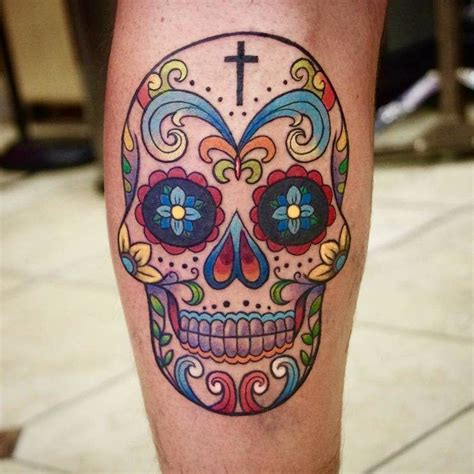 skull candy tattoo 30 amazing and inspiring sugar skull tattoos