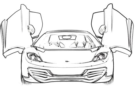 coloring pages ferrari cars ferrari mp412 italia coloring page ferrari car coloring