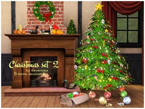 sims 3 christmas decor cc spring4sims