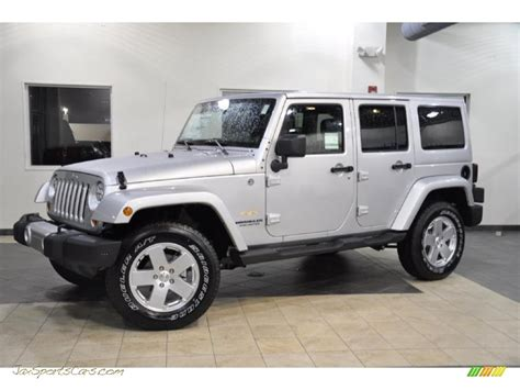 jeep sahara silver 2011 jeep wrangler unlimited sahara 4x4 in bright silver