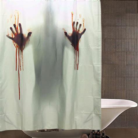 blood bath shower curtain horror blood bath polyester shower curtain