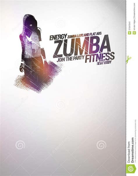zumba wallpaper design zumba party or dance training background stock image