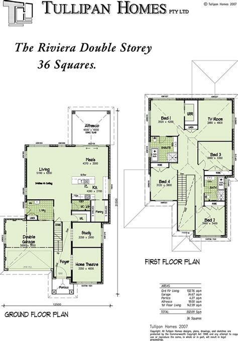 Riviera 36 Square   Double storey home design, Home Design