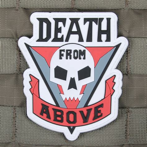 death from above tattoo from above starship troopers morale patch