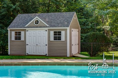 pool shed ideas lexington pool shed with gable dormer post woodworking