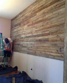 pallet wall project
