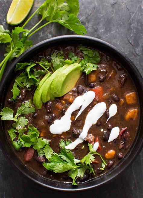 black bean soup hearty  healthy simplyrecipescom