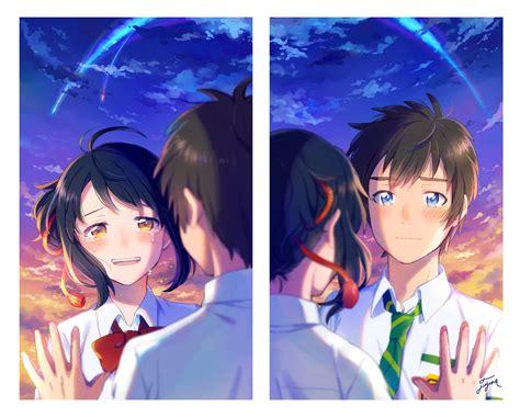 anime kimi no na wa kimi no na wa images kimi no na wa hd wallpaper and