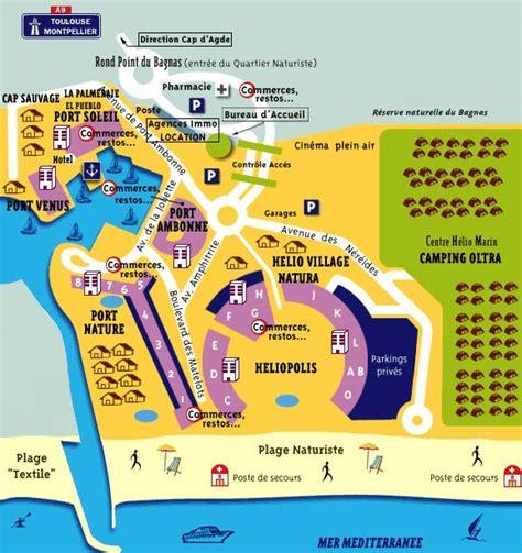 le best of du cap d agde maps of cap d agde and resort in agde c