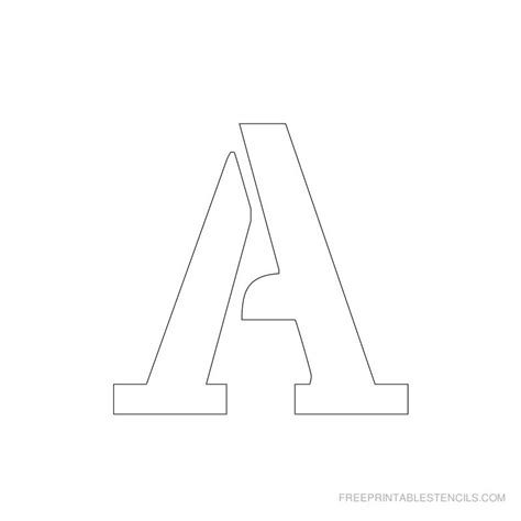 printable stencils letters letter stencils to print free printable stencils