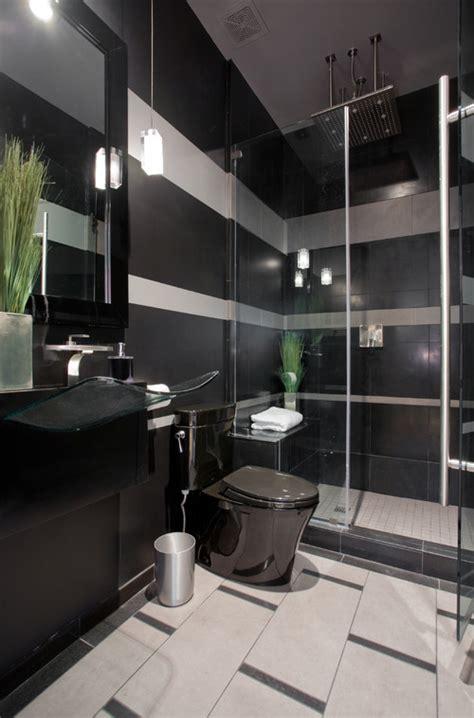 Black Gray Bathroom Ideas by