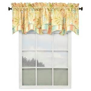 Coral Valance Curtains Waverly Cape Coral Lined Window Valance Coral Target