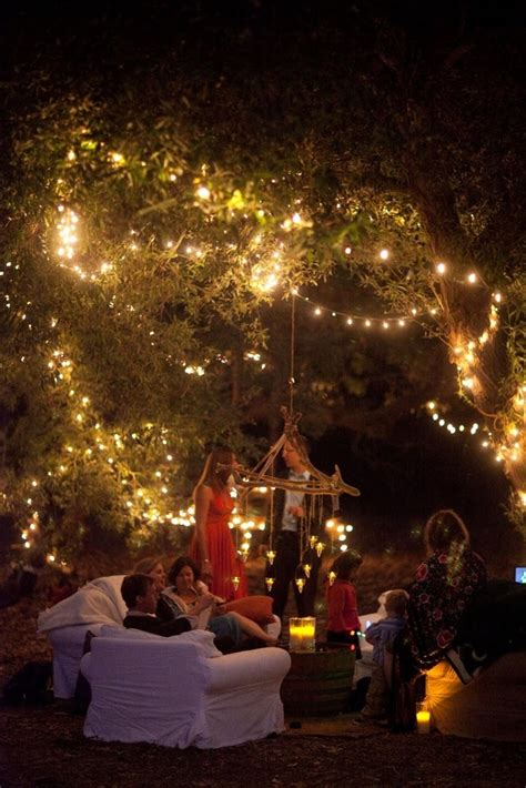 backyard fairy lights string up globe lights and host a backyard party go mighty
