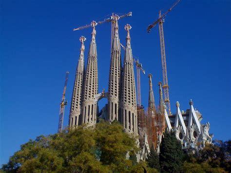 Architecture images La Sagrada Familia HD wallpaper and