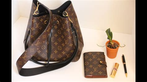 chatty unboxing of the louis vuitton neo noe bag and bandouli 232 re monogram