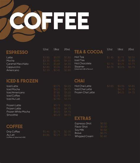design coffee shop menu layout coffee shop menu board design www imgkid com the image