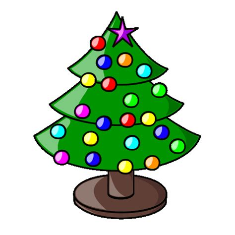 christmas tree and xmas decoration animations