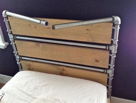 pipe bed frame 25 best ideas about pipe bed on pinterest industrial bed frame industrial bed and