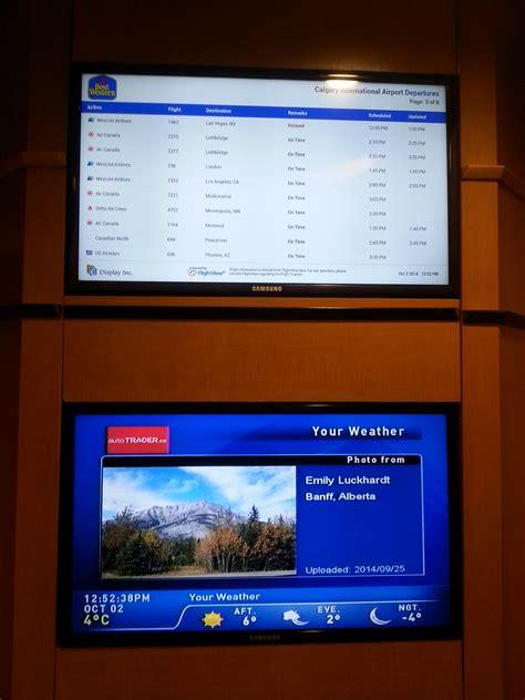 best digital signage e display deploys flight digital signage at best western