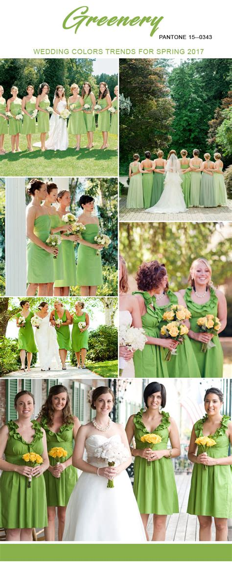 april wedding colors 2017 top 10 bridesmaid dresses colors for spring 2017 inspired