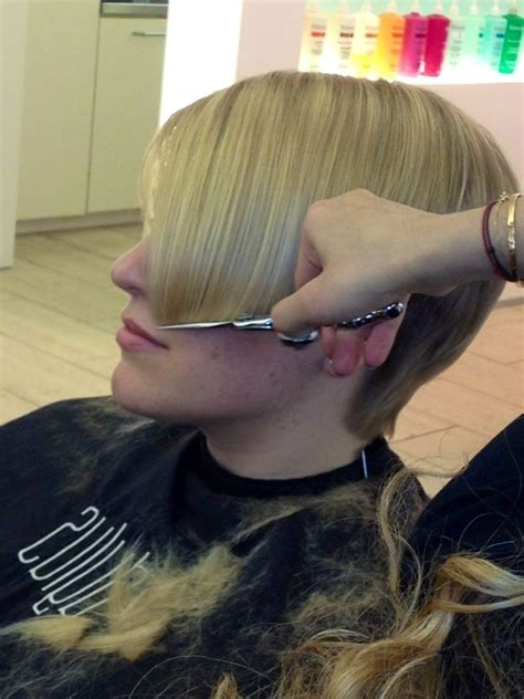 Haircut Cape Story | pin by josef martin on women being barbered pinterest