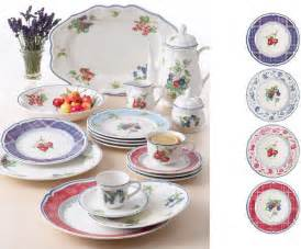 cottage style dinnerware from villeroy boch cottage