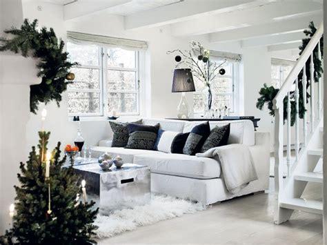 Home Interiors Christmas by White Scandinavian Christmas Decor