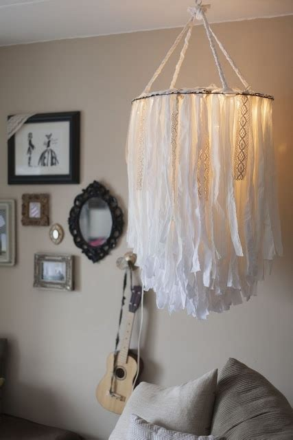 how to make a fabric chandelier 34 diy chandeliers to light up your diy