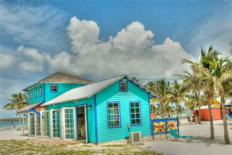 colorful beach houses coco cay house flickr photo sharing