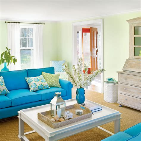 colored furniture 22 cottage decorating ideas coastal living