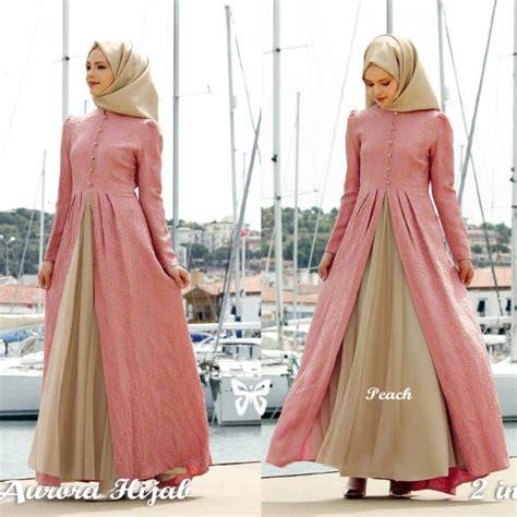 Baju Wanita Baju Muslim Wanita Setelan Kode Df6339 1 model gamis baju muslim fashion terbaru setelan modern