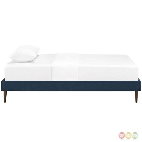 platform twin bed frame sherry upholstered fabric twin platform bed frame azure