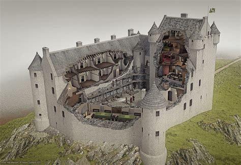 Roman House Floor Plan by Kilchurn Castle Illustrated Historical Reconstruction