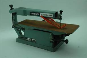 scroll saw bench delta 15 quot benchtop scroll saw model 40 150 ebay