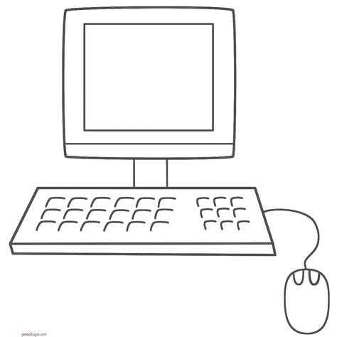 dibujos de navidad para colorear en la computadora dibujos de ordenadores y computadoras para colorear