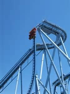 Busch Gardens Vertical Drop Minecart Roller Coasters In Minecraft Pe Arqade