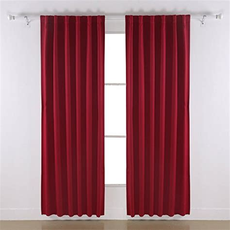 thermal curtains for sliding glass doors deconovo rod pocket curtains solid color thermal insulated