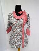 Model Baju Batik Muslim Wanita