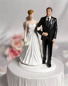 Chic wedding bride and groom cake topper wedding collectibles