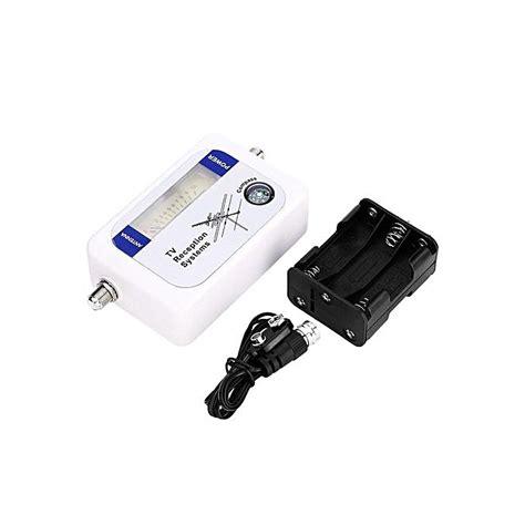 universal mini dvb t finder digital aerial terrestrial tv antenna signal strength meter detector