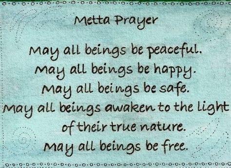 metta prayer yoga quotes daily meditation metta