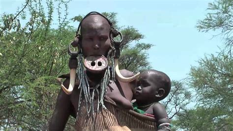 youtube african tribes mursi people native african tribes in the omo valley in