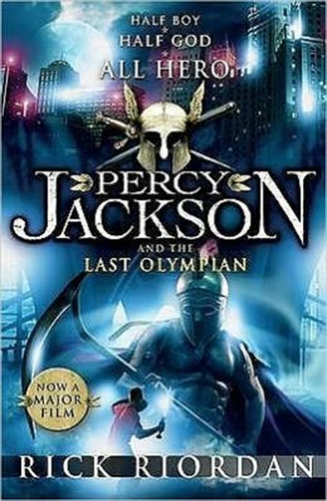 Percy Jackson And The Olympians 5 The Last Olympian Rick Riordan the last olympian percy jackson and the olympians series 5 by rick riordan 9780141321288